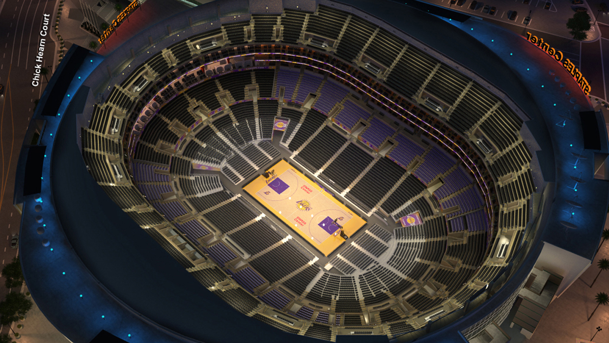 La Lakers Virtual Venue By Iomedia